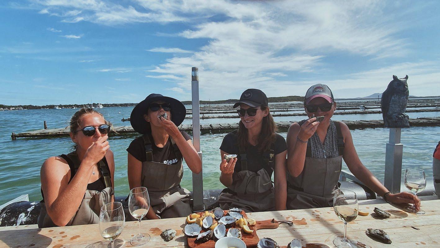 Wyprawa grupowa w marcu 2020 - degustacja ostryg