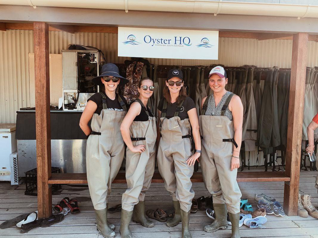 Wyprawa grupowa w marcu 2020 - wizyta na farmie ostryg Oyster HQ