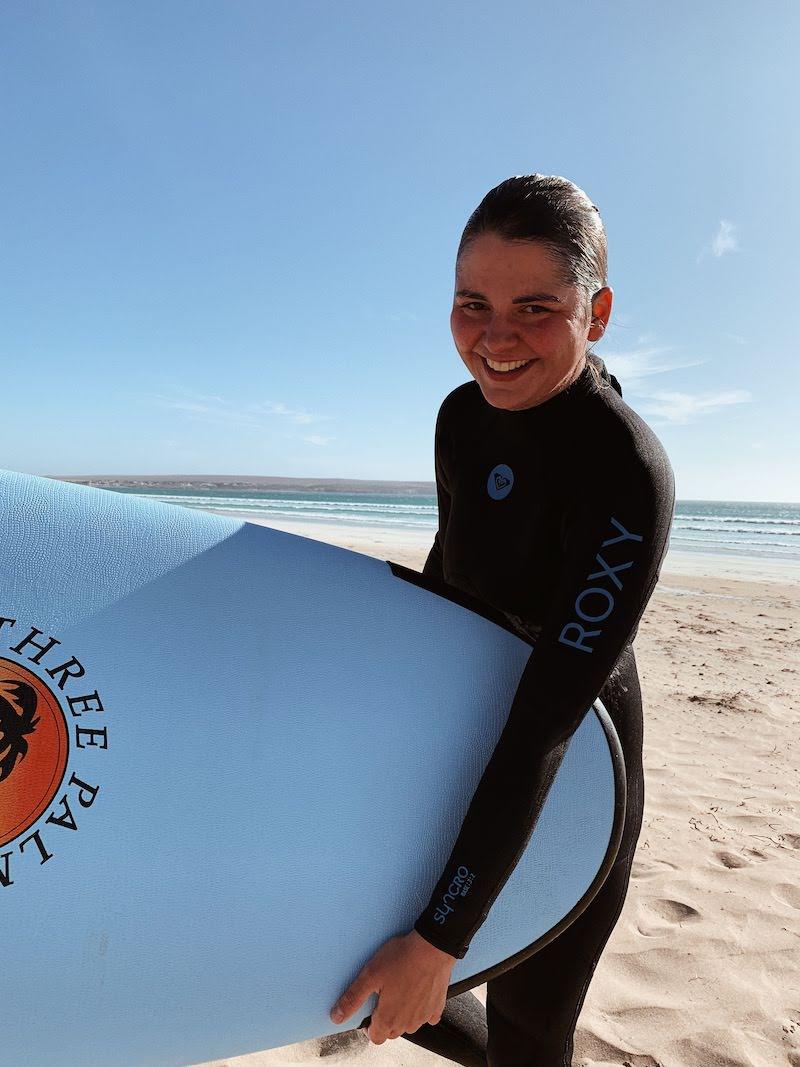 Wyprawa grupowa w marcu 2020 - Lekcja surfingu