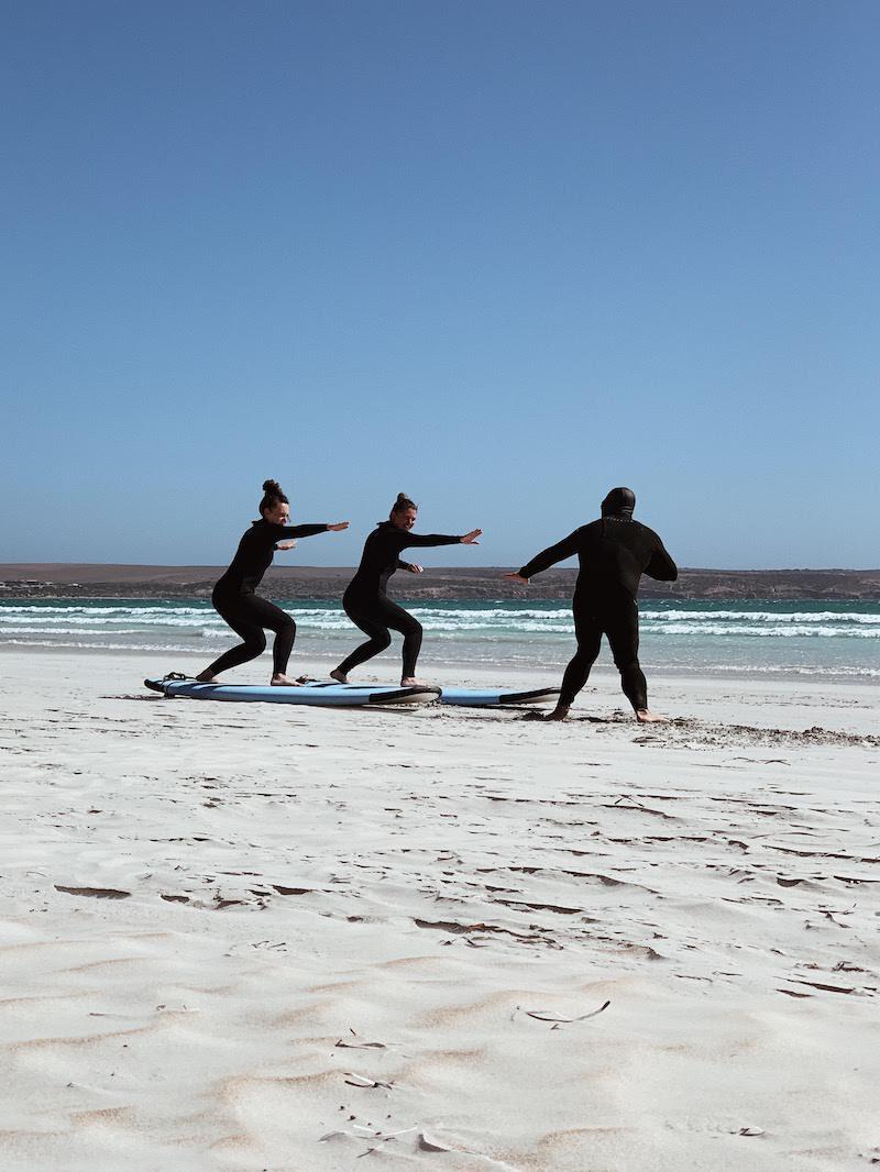 Wyprawa grupowa w marcu 2020 - surfing